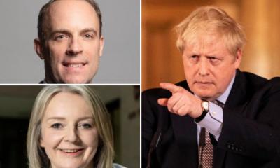 برطانوی کابینہ میں بڑے پیمانے پر اکھاڑ پچھاڑ، وزیر خارجہ بھی تبدیل