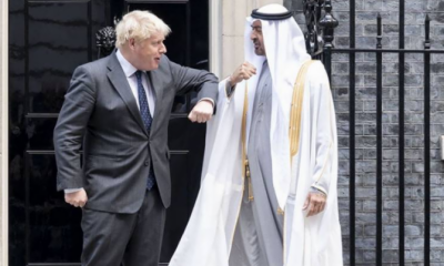 ولی عہد شیخ محمد بن زاید النہیان کی برطانوی وزیر اعظم سے اہم ملاقات