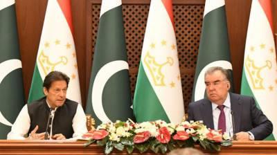 پاکستان،تاجکستان کا دوطرفہ تعلقات میں بہتری لانے پر اتفاق