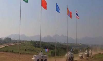 اقوام متحدہ کے امن دستوں کی فوجی مشقیں