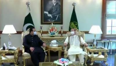 بیرسٹر سلطان محمود چوہدری کی وزیر اعلیٰ پنجاب سے لاہور میں ملاقات