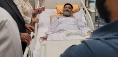 عمر شریف کے بیرون ملک جانے کا معاملہ، سندھ نے ائیر ایمبولینس سے متعلق وفاق کو خط لکھ دیا