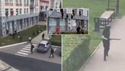 روس: یونیورسٹی میں فائرنگ کے واقعے میں 8 افراد ہلاک،متعدد زخمی ،حملہ آور گرفتار