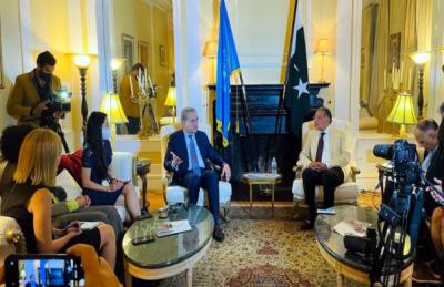 وزیرخارجہ شاہ محمودقریشی سے یواین پریس نمائندگان کی ملاقات, افغانستان پورے خطے کیلئے فائدےاوراستحکام کا باعث ہو گا: وزیرخارجہ