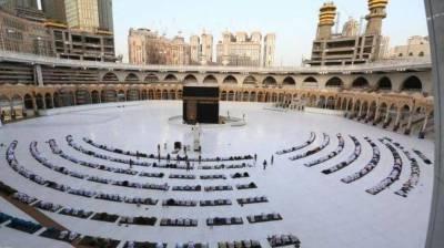 نمازیوں اور عمرہ زائرین کے لئے مسجد حرام کا توسیعی حصے کی پہلی منزل اور چھت تیار