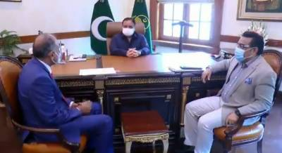 وزیراعلیٰ پنجاب سے اوورسیز پاکستانیز کمیشن پنجاب کے نئے وائس چیئرمین مخدوم طارق محمودالحسن کی ملاقات