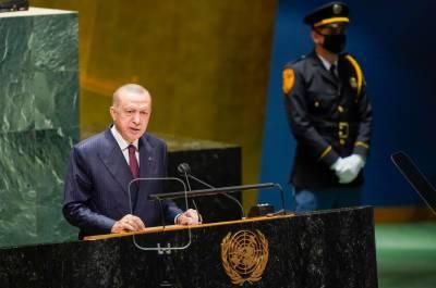 ترک صدر رجب طیب اردوان نےایک بارپھرمسلہ کشمیر اقوام متحدہ میں اجاگرکردیا۔