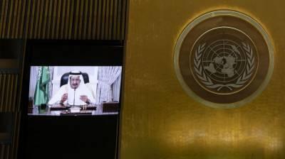 سعودی عرب دنیا میں امن کا داعی اورتنازعات کا پُرامن حل چاہتا ہے۔ شاہ سلمان بن عبدالعزیز