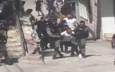 مقبوضہ بیت المقدس: اسرائیلی فوج کے تشدد سےمتعدد فلسطینی طالبعلم زخمی