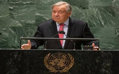 ممالک پر امن اور مستحکم افغانستان کے خواہاں ہیں۔سیکرٹری جنرل انتونیوگوتیرٹس