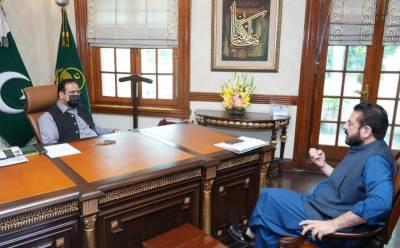 وزیراعلیٰ پنجاب سردار عثمان بزدار سے سابق صوبائی وزیر و رکن صوبائی اسمبلی سمیع اللہ چوہدری کی ملاقات