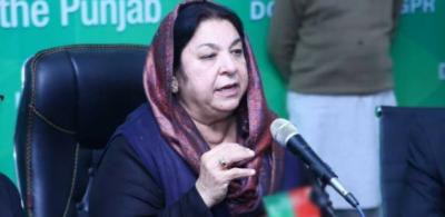 ویکسی نیشن میں مدد کے بجائے الزام لگا کر پاکستان کو نقصان پہنچایا جارہا ہے: یاسمین راشد