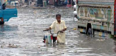 کراچی والے تیار ہوجائیں ، آج بھی موسلادھاربارش ، سیلابی صورتحال کا خطرہ