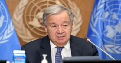 کوئی بھی علاقہ موسمیاتی آفات سے محفوظ نہیں:سیکرٹری جنرل اقوام متحدہ