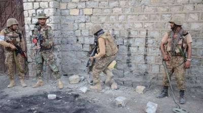 بلوچستان:ایف سی کی کارروائی دو سرغنوں سمیت 6دہشتگرد ہلاک