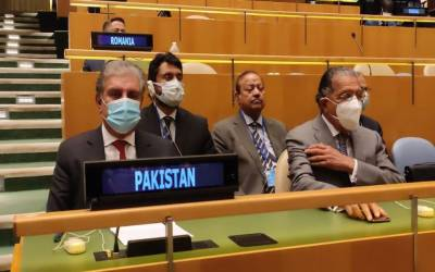 مقبوضہ جموں و کشمیر میں یکطرفہ بھارتی اقدامات عالمی امن کیلئے خطرہ ہیں۔شاہ محمودقریشی