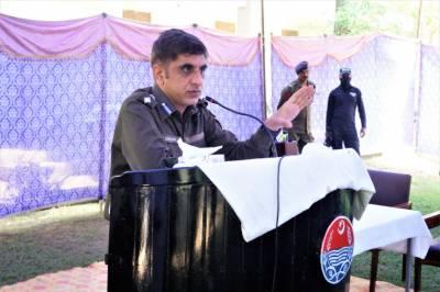 سیالکوٹ : عوام کے جان و مال کے تحفظ کیلئے پولیس دن رات کوشاں ہے، ڈی پی او عبدالغفار قیصرانی
