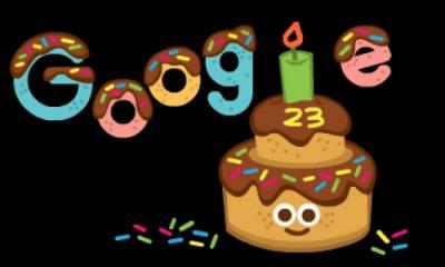 سرچ انجن گوگل کی آج 23 ویں سالگرہ
