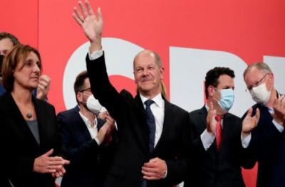 جرمنی کےالیکشن میں سوشل ڈیموکریٹک پارٹی کو سبقت