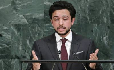 اردن کے ولی عہد الحسین بن عبداللہ کرونا وائرس کا شکار