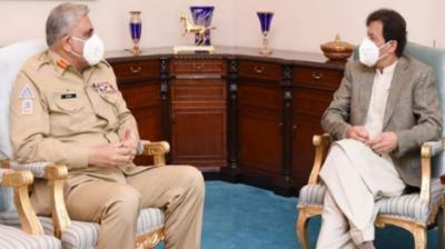 وزیر اعظم اور آرمی چیف کی اہم ملاقات، ملک کی سلامتی امور پر تبادلہ خیال