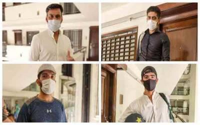 ٹی 20ورلڈ کپ:تمام پاکستانی کھلاڑیوں کا کورونا ٹیسٹ منفی