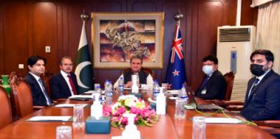 دنیاافغانستان کوانسانی امدادکی فراہمی کےلئےہنگامی اقدامات کرے:وزیر خارجہ شاہ محمود قریشی