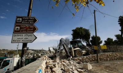 اسرائیل نے مسجد اقصیٰ کے قریب قدیم ترین مسلم قبرستان مسمار کردیا