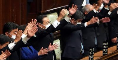 جاپان کے نئے وزیراعظم نے پارلیمنٹ کے ایوان زیریں کو تحلیل کردیا