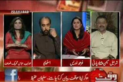 8pm with Fareeha Idrees (Fate of PM--10 Days Left--Letter to Swiss Courts) 17 August 2012