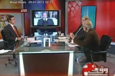 Tonight With Moeed Pirzada 29 January 2013