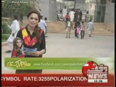 Salam Pakistan 08 February 2013 (Part 1)