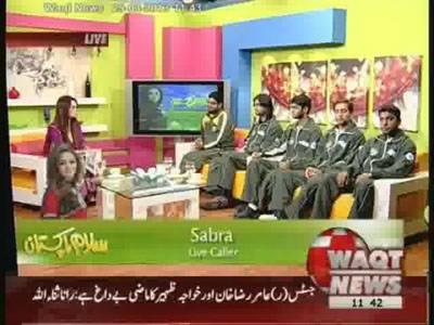 Salam Pakistan 25 March 2013 (Part 2)