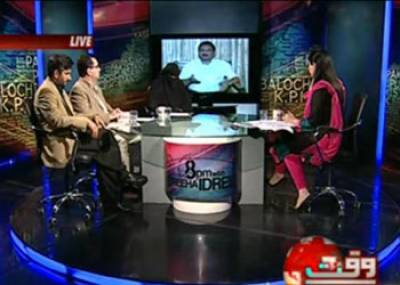 8pm with Fareeha Idrees (General Pervaiz Musharraf:Statements and Realities) 28 March 2013