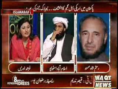 8pm with Fareeha Idrees 04 June 2013