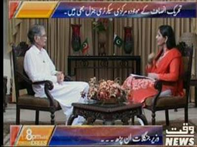 8pm with Fareeha Idrees (Exclusive Interview of CM KPK Pervez Khattak) 22 July 2013