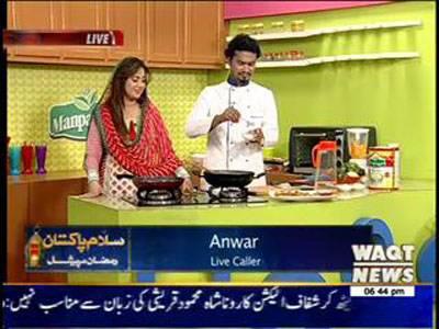 Salam Pakistan 08 July 2014 (Rehman Ramazan part 2)