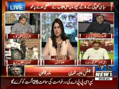 8PM With Fareeha Idrees 24 August 2014 (part 1)
