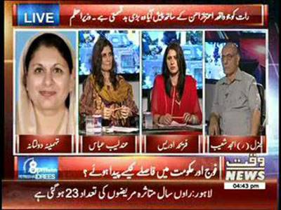 8PM With Fareeha Idrees 05 September 2014 (part 1)