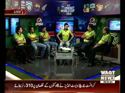 ICC Cricket World Cup Special Transmission 21 February 2015 (Part 2)