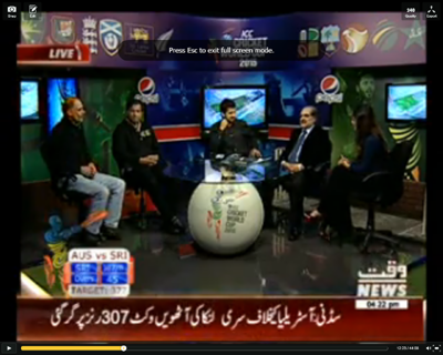 ICC Cricket World Cup Special Transmission 08 March 2015 Part 3