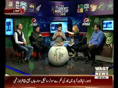 ICC Cricket Wolrd Cup Special Transmission 19 March 2015 (Part 3)
