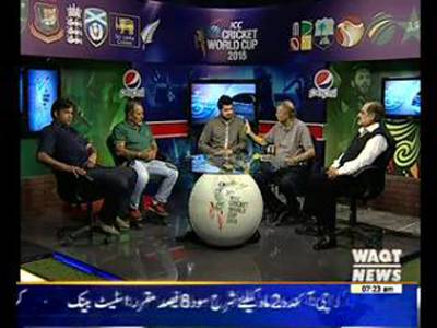 ICC Cricket World Cup Special Transmission 22 March 2015 (Part 1)