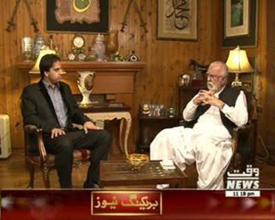 Waqt Special 21 July 2015 (Senator Sardar Zulfiqar Ali Khan Khosa's Interveiw)