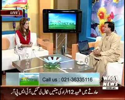 Salam Pakistan 07 August 2015 (Part 1)