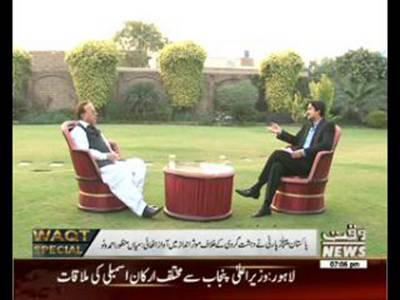 Waqt Special 16 November 2015 (Manzoor Watto Interview)