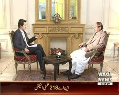 Waqt Special 18 January 2016 (Ch Shujat Interview)