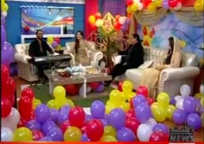 Eid Rang With Sana Amjad 26 June 2017